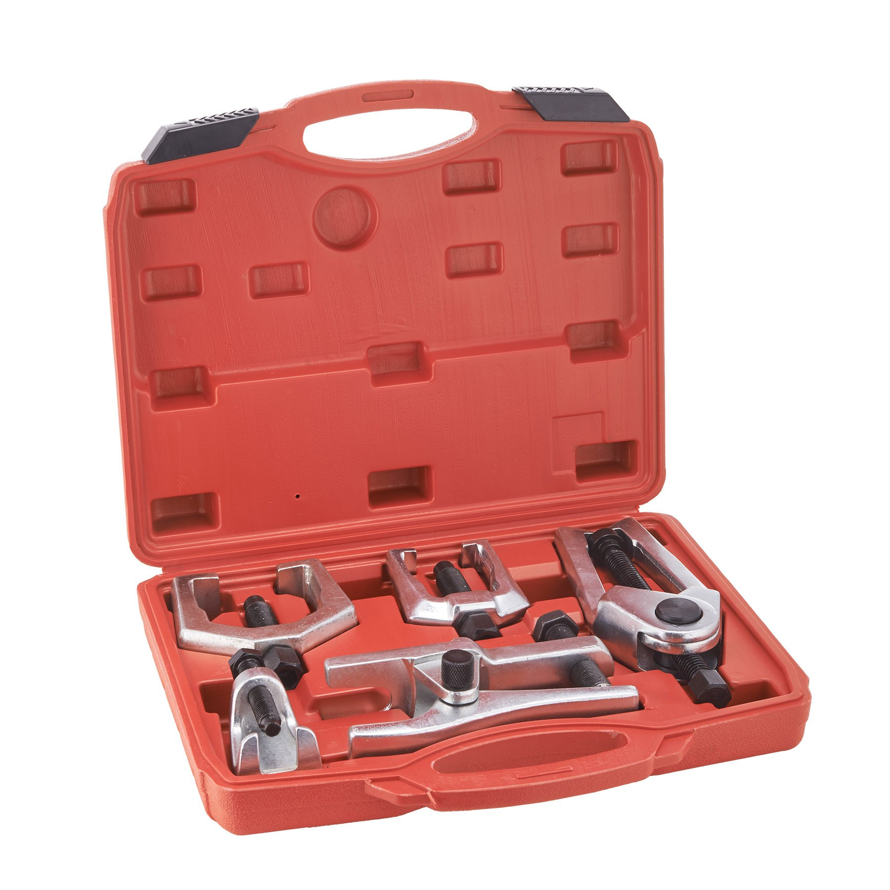 Biltek 6pc Front End Service Tool Kit Ball Joint Separator Pitman Arm Tie Rod Puller
