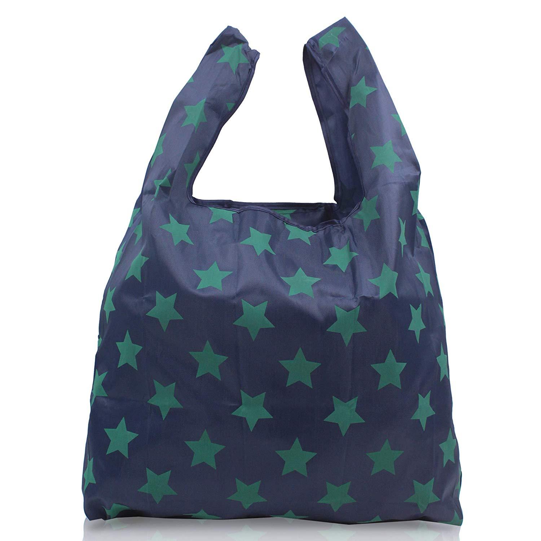c97e969b32 Custom promotional polyester nylon foldable reusable shopping Bag foldable  shopping bag polyester