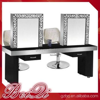 salon styling station meuble coiffeuse pas cher coiffeuse avec miroir lumineux coiffeuse