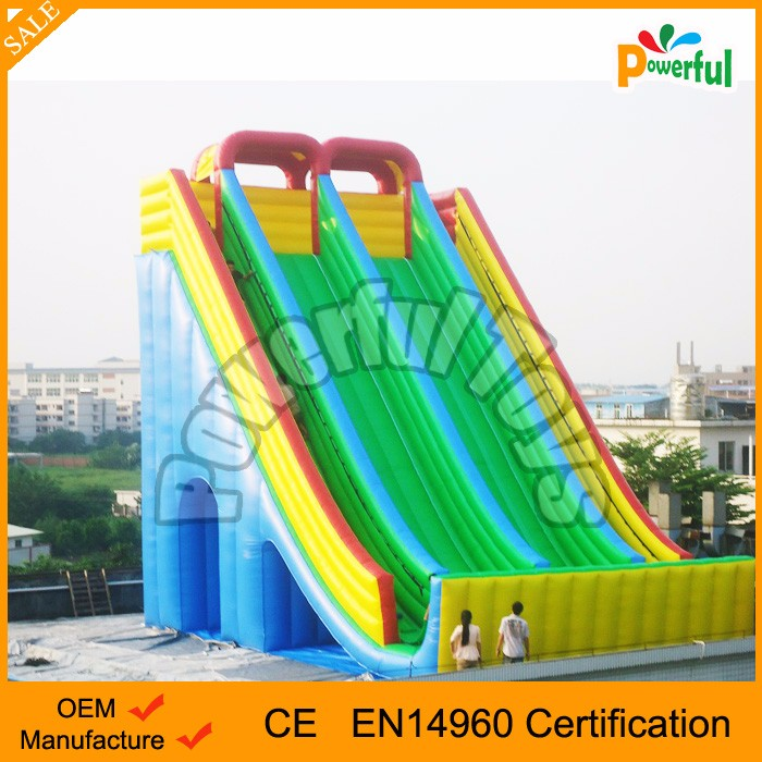 high quality inflatable dry slide inflatable slides for water park