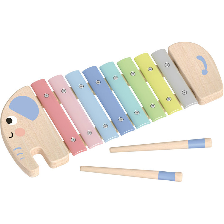 New Hottest Kids Elephant Xylophone Wooden Musical Toys