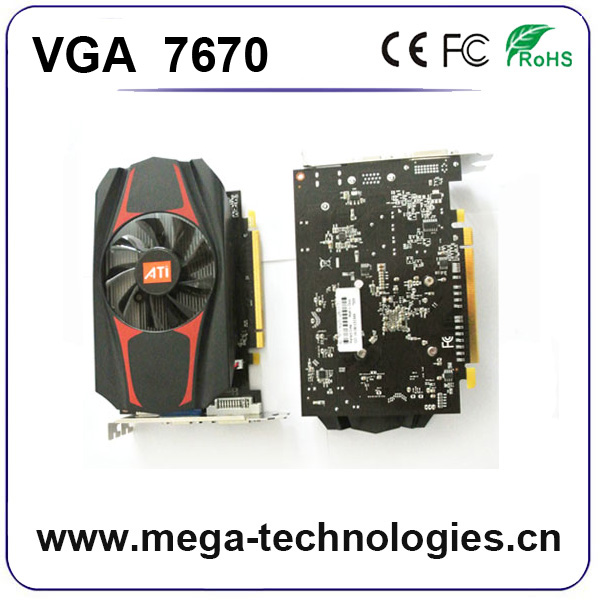 2017 Promotional products gtx vga 3d graphic card VGA 7670