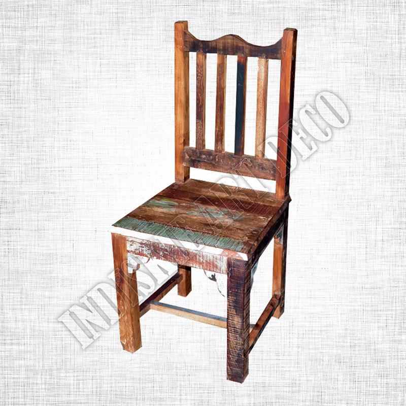 Sillas de madera reciclados restaurante sillas de madera identificaci n del producto - Sillas de madera precios ...