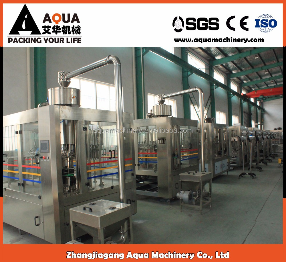 High Speed Mineral Water Plant /Manual Liquid Filling Machine