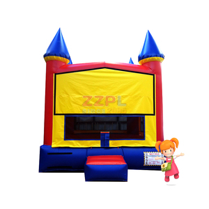 ZZPL Wholesale Module Inflatable Bounce House for sale, Kids Crayons Inflatable Jumping Castle