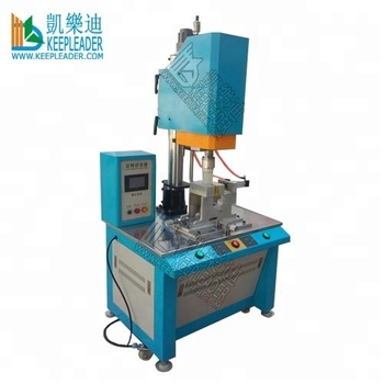 Circular plastic spin welding machine of water filtet spin friction welding