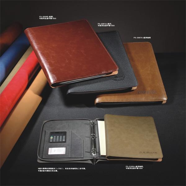 Eco-friendly Thread Binding Notebook Customized Zipper