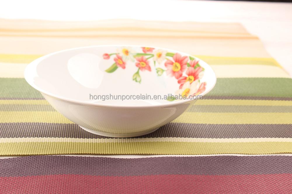 patr n decorativo barato plato de sopa taz n de cer mica On platos de ceramica baratos