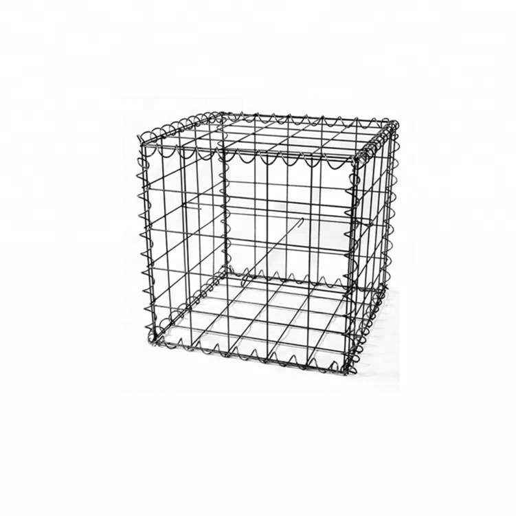 Gabions Application and Galvanized Iron Wire Material galvanized stone box