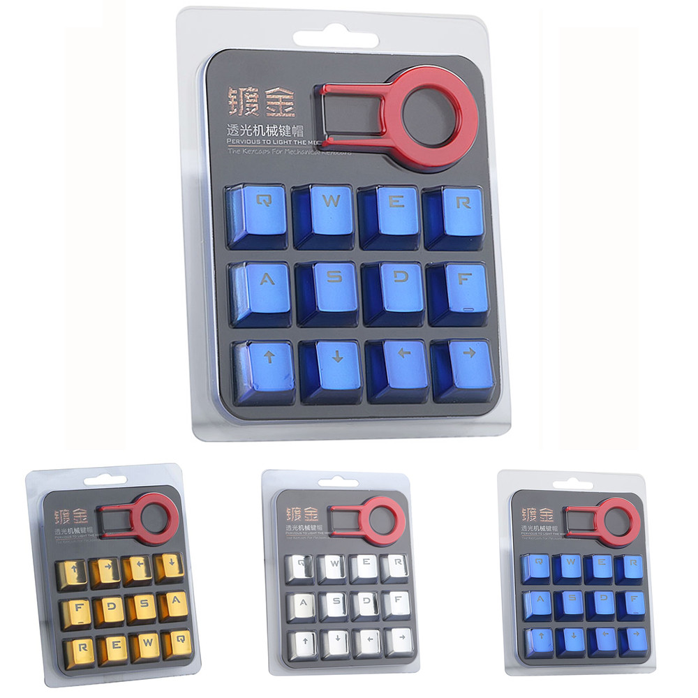 Multicolor PBT Keycaps For Mechanical Keyboard Switch Transparent Keyboard Cover