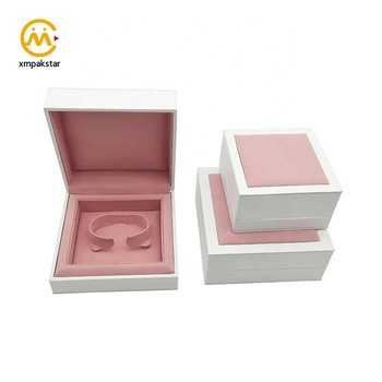 Wholesale custom jewelry package cardboard bangle gift box for bracelet
