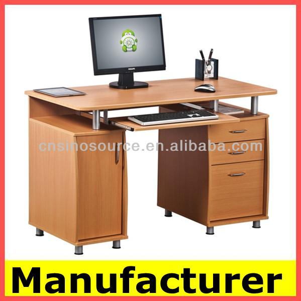 Ikea de madera para oficina y el hogar de la computadora for Mesas de ordenador ikea