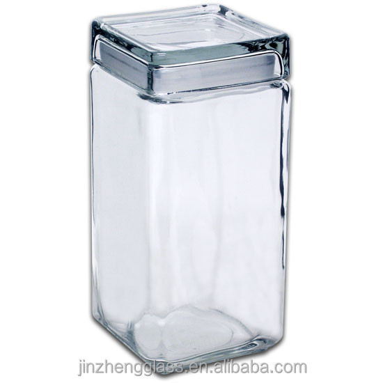Square Glass Jars With Lids Wholesale Buy Square Glass Jars With