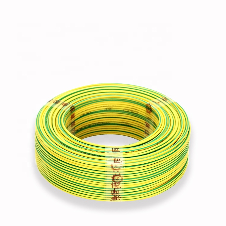 , Iso, BV BVV BVR Single Core 16 미리메터 Green Yellow Electrical 땅 Cable Price
