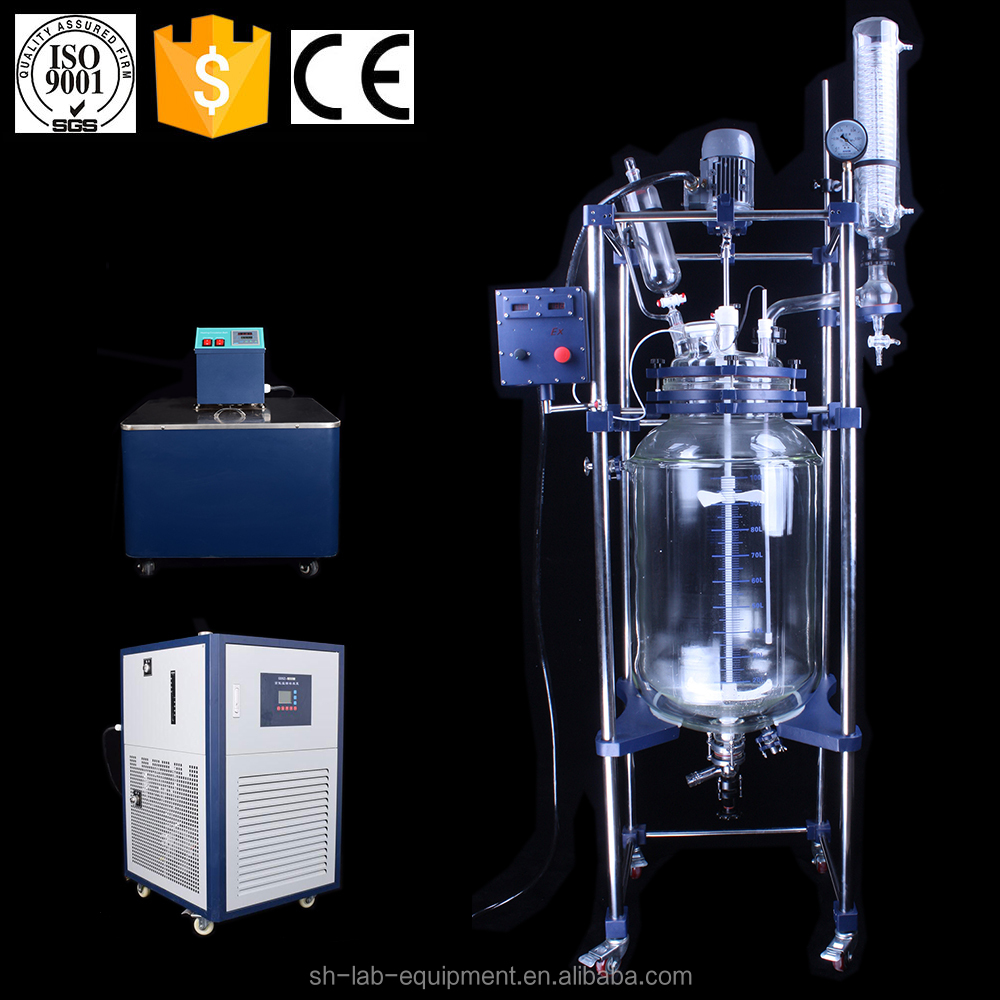 Hot sale industrial Autoclave Reactor with Jacketed Glass Reaction Vessel
