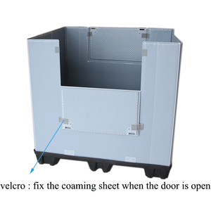 Static load 4T Folding Plastic Coaming Box