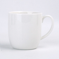 240ml White Simply Classical Ceramic Fine Porcelain New Bone China Cappuccino Coffee Cups Mugs Sets