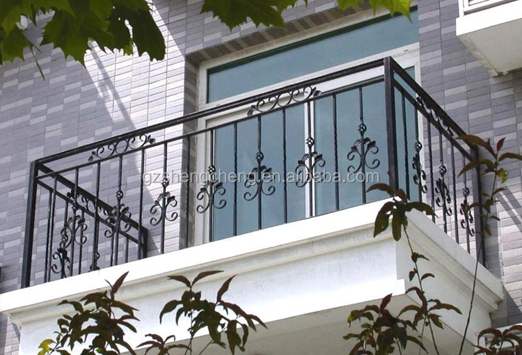Modern balcony designs ornamental galvanized balcony Decorative railings