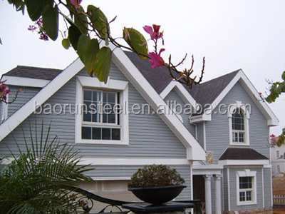 china low price steel structure building /light steel house/prefabricated villa