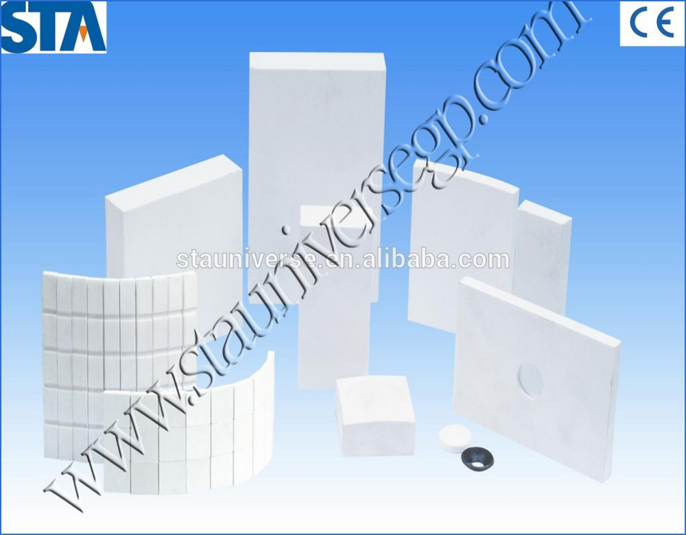 Heat Resistant 99.7 Top Quality Alumina Ceramic Plate