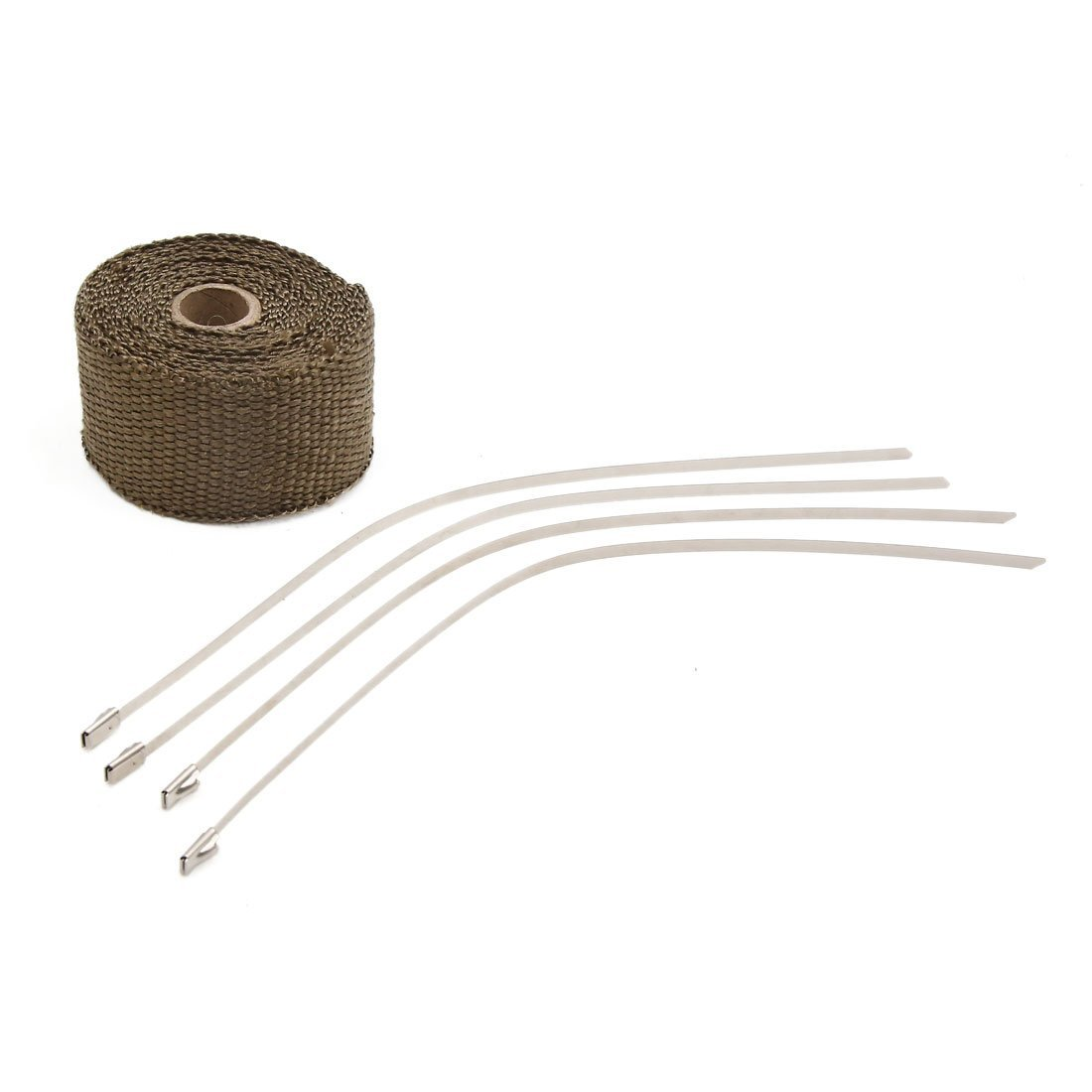 Cheap Pipe Insulation Wrap Find Deals On Line Cloth High Heat Resistant Wiring Insulating Tape 15m Get Quotations Uxcell Gold Tone Fiberglass Exhaust Turbo 5m Long