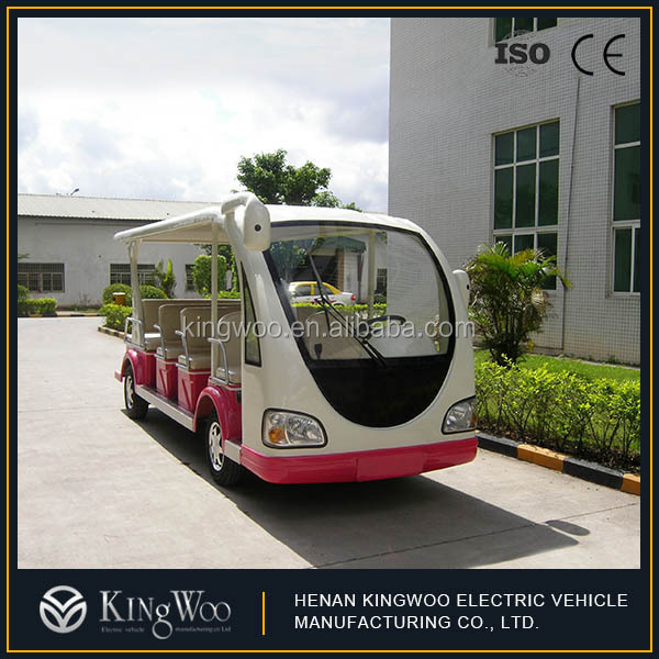 Electric Shuttle Bus 14 Lugares mini-autocarro eléctrico