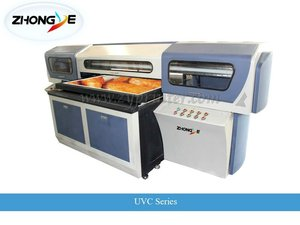 small format uv flatbed printer machine UVC0906