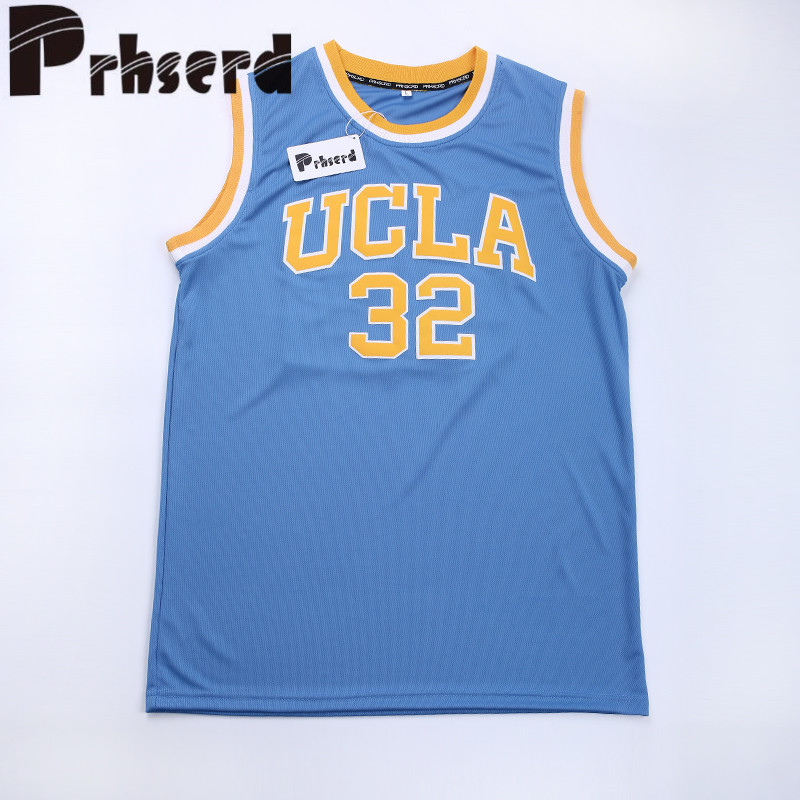 44b0c6a11573 ... Vintage Stitched Mens Cheap Basketball PRHSCRD Mens 32 Bill Walton  College Embroidered Throwback Basketball Jerseys ...