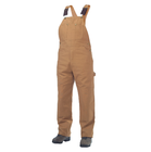 Premium Quality Bib Overall, 100% cotton, Brown