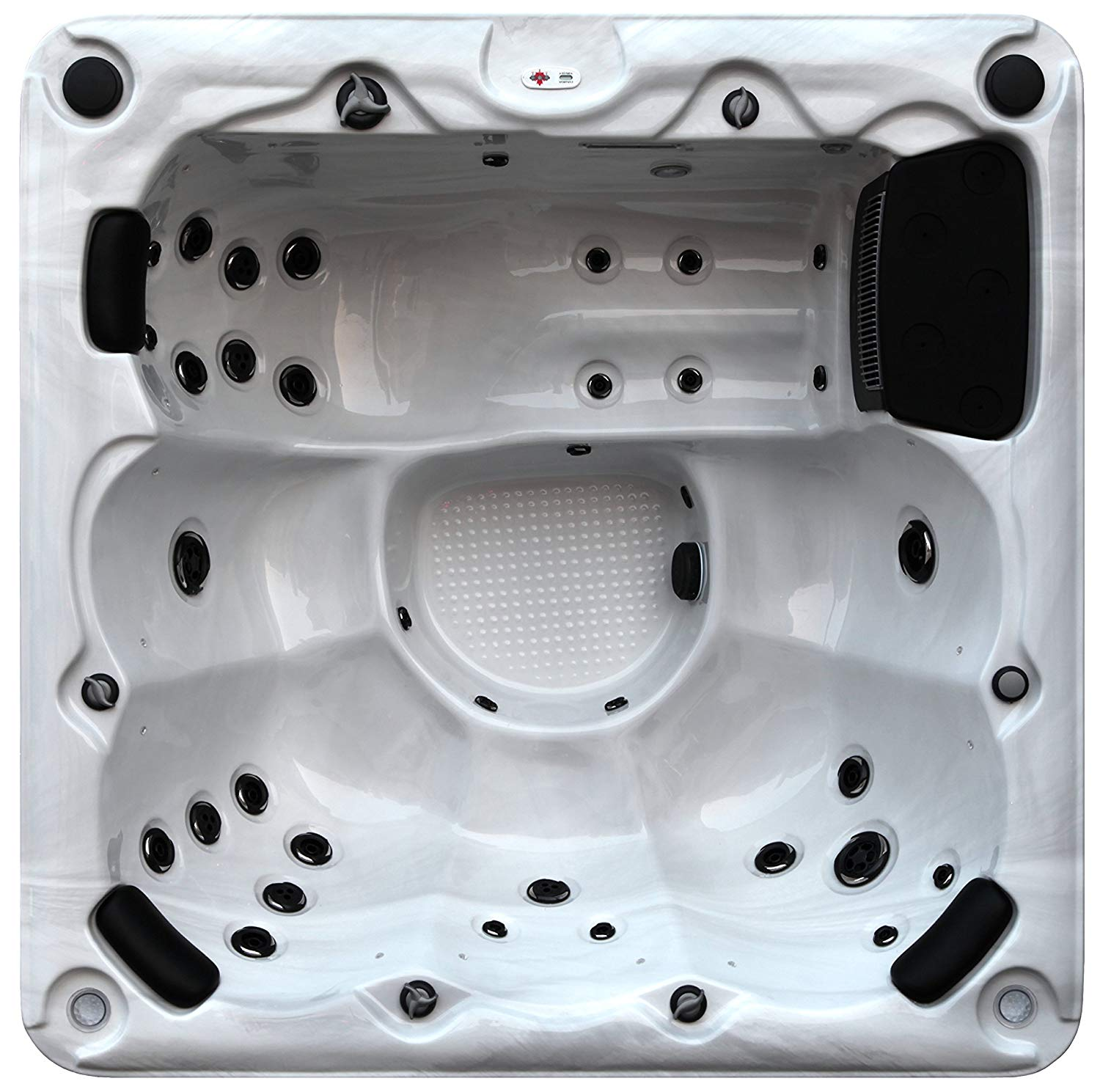 032a7f632b1 Get Quotations · Canadian Spa Company Winnipeg Plug   Play 35-Jet 6 Person  Hot Tub with LED