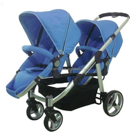 Light and compact twin baby stroller , best twin baby strollers made in china 3 in 1