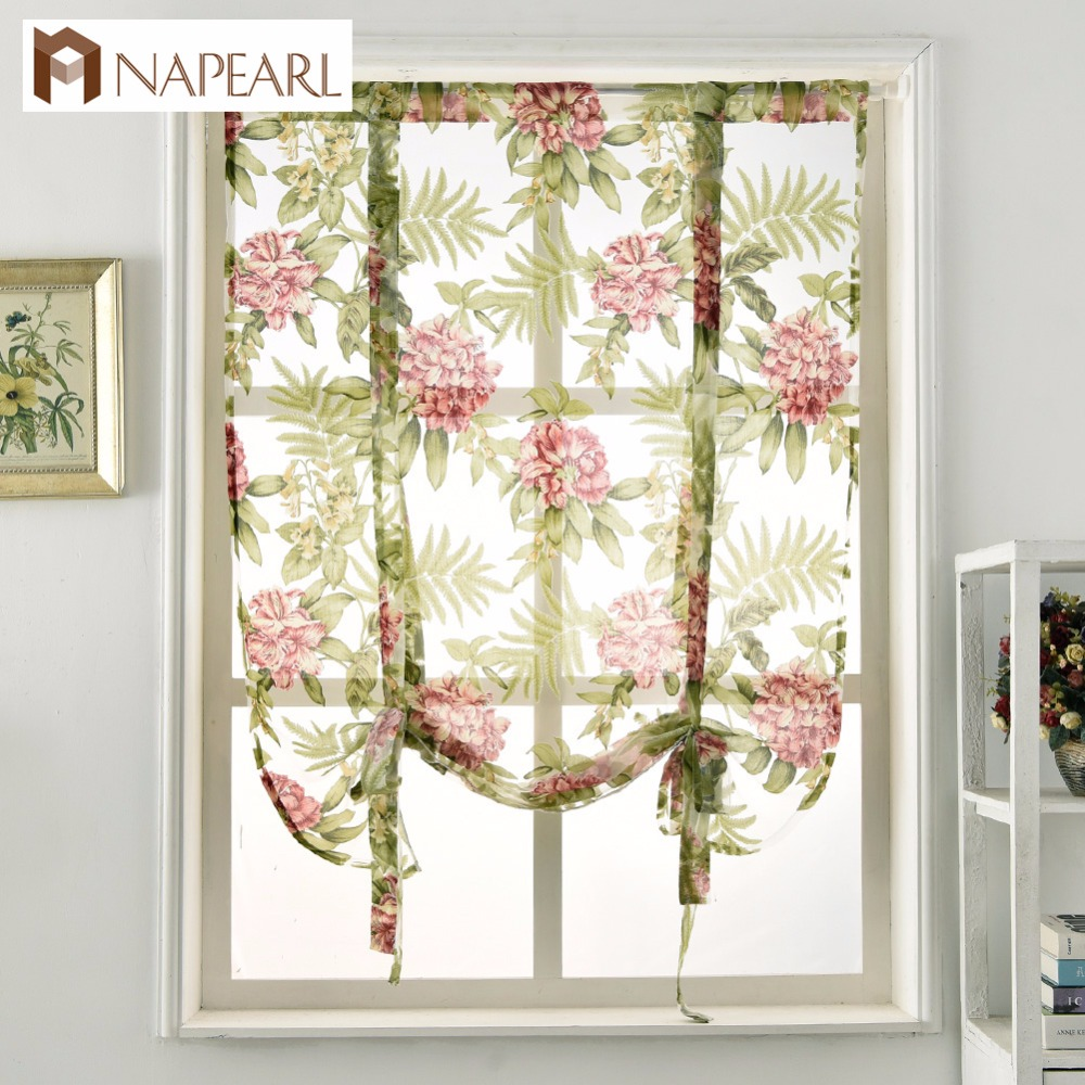 Napearl Fancy Doule Rod Pocket Sheer Curtains 96 Length Product On