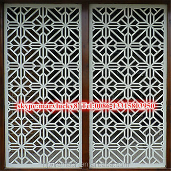 Decorative Laser Cutting Perforated Metal Wall Panels