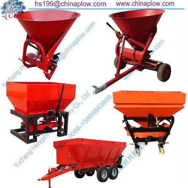 Tractor Pto Driven Fertilizer Spreader / Broadcast Spreader
