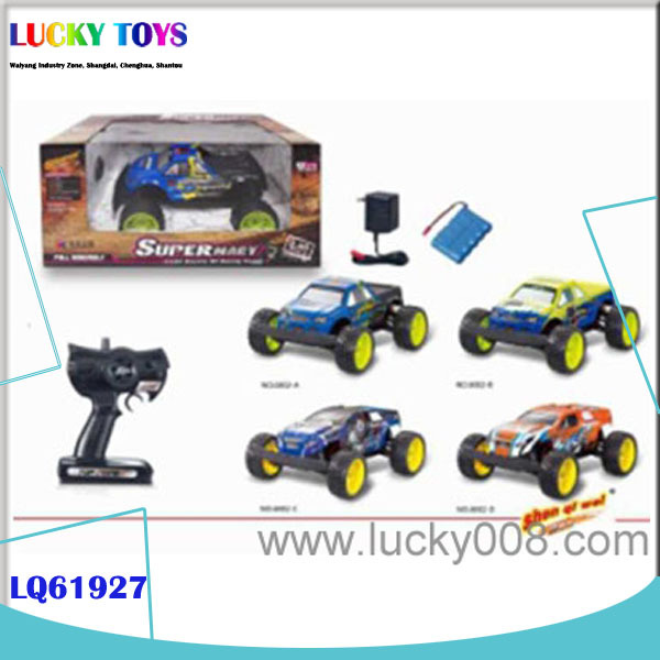New 2.4G 4 channel 1:14 RC buggy toy electric car controller kit boy toy gift rc off road jeep for sale