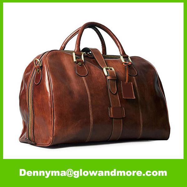 Perfect Size Suited as hand luggage Leather Flight Bag
