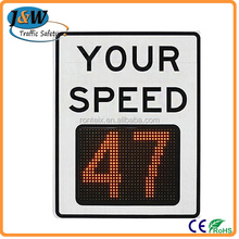 Solar LED Speed Sign / LED Speed Sign / VMS Speed Signs