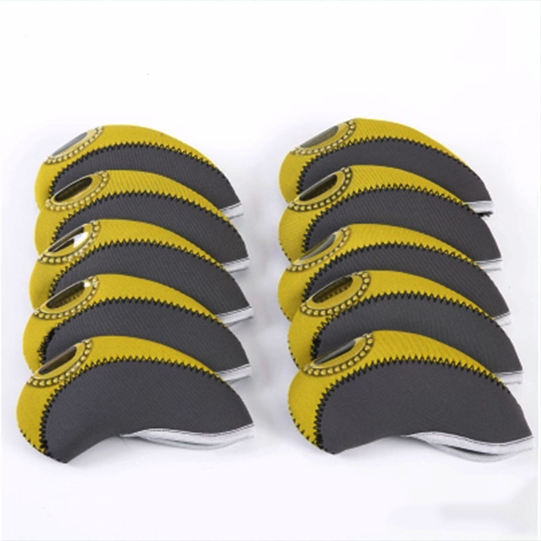 Neopreen Transparant Venster Golf Head Cover Golf Club Putter Headcovers Protect Set Golf Accessoires
