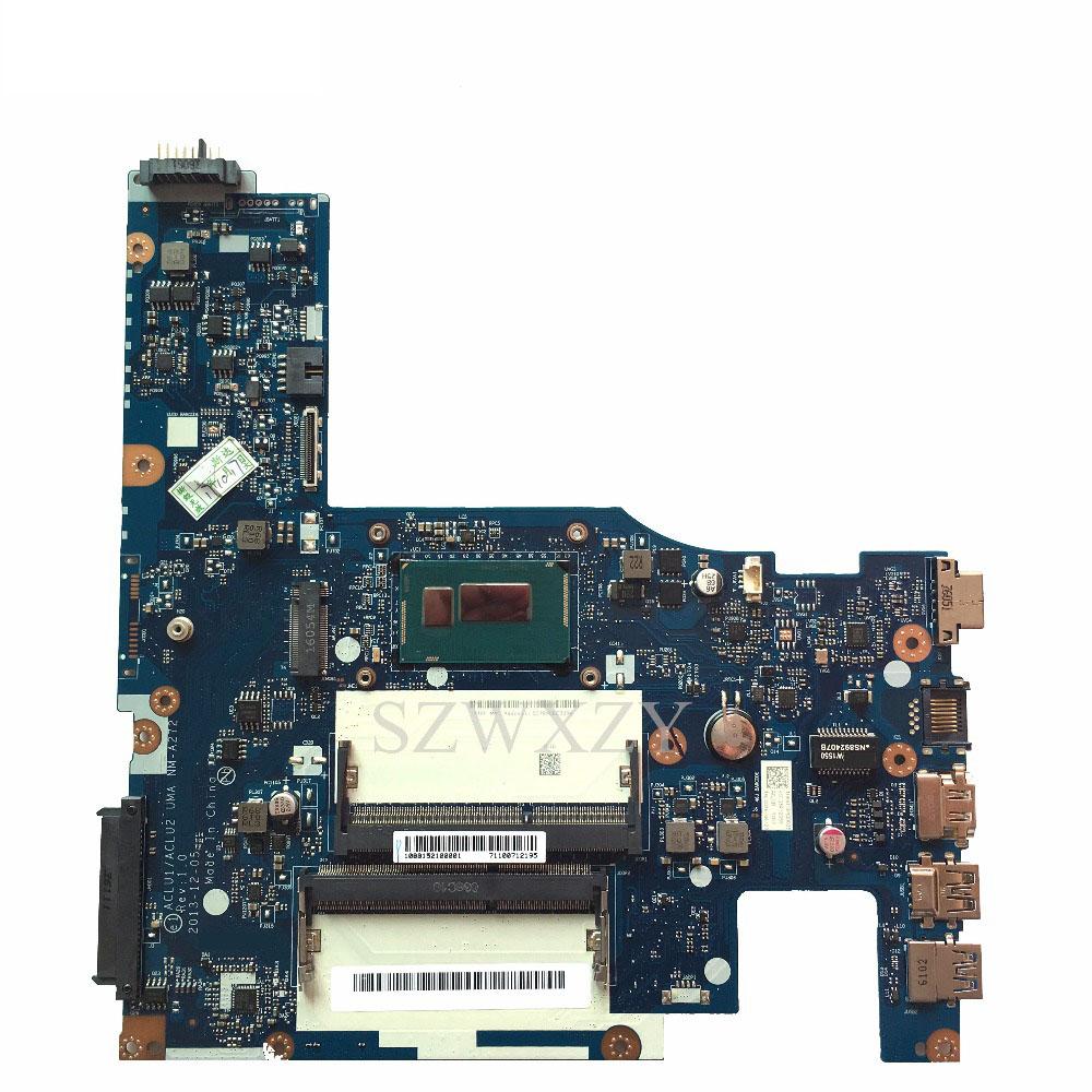 For Lenovo Z50-70 G50-70 Laptop Motherboard I3-4005u Processor 1 7ghz  Aclua/aclub Nm-a272 - Buy G50-70 Laptop Motherboard,Nm-a272  Motherboard,Z50-70