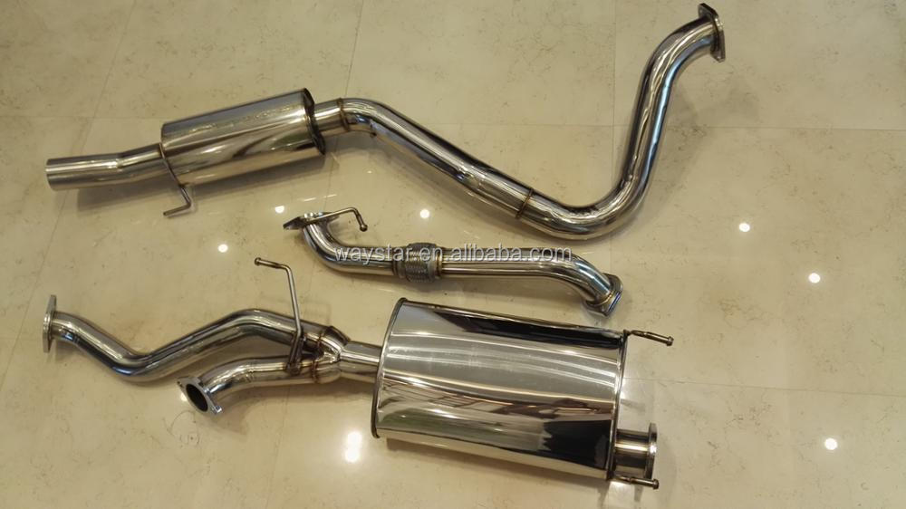 for toyota landcruiser 100 105 series petrol 4.7L v8 diesel exhaust systerm turbo back
