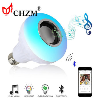 Muziek bluetooth speaker lamp draadloze intelligente afstandsbediening met USB interface licht Wifi LED lamp licht