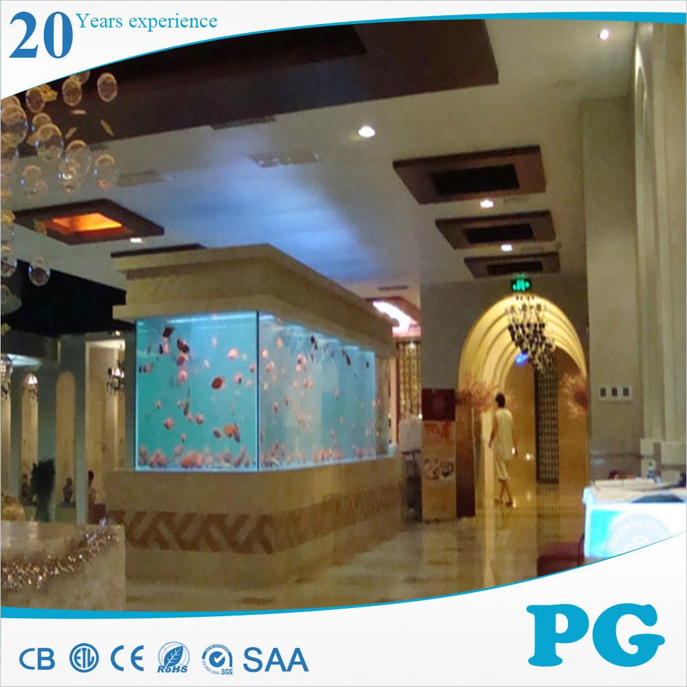 Pg design moderno acquario acrilico di grandi dimensioni for Acquario per tartarughe grandi
