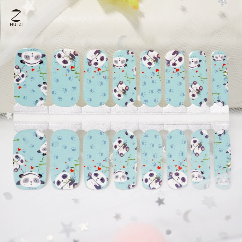 Wholesale New Arrival Designs with Self-adhesive Nail Wraps 3d  Fashional Nail Art Foil Sticker Supplier