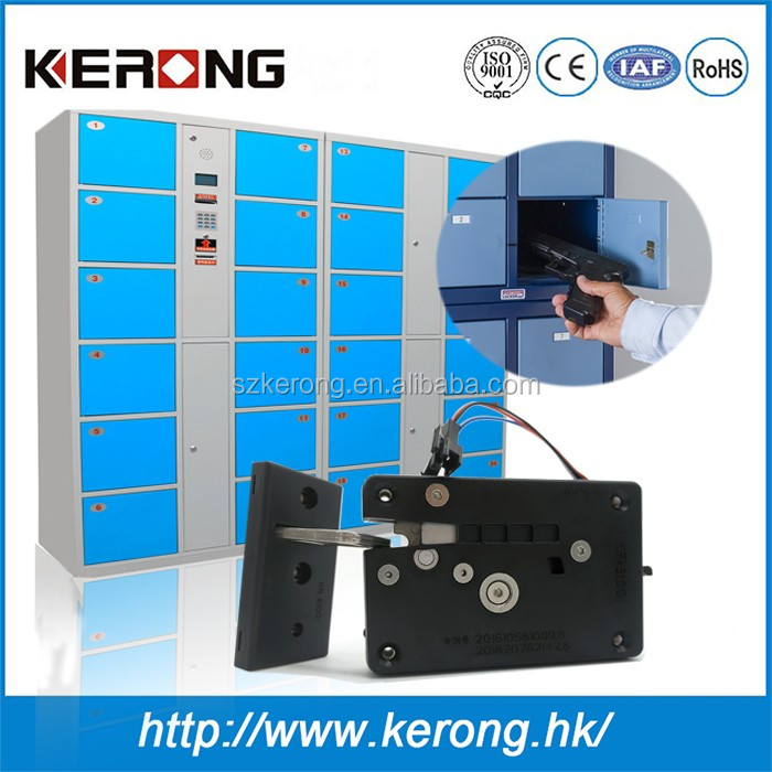 Access control electric gym cloth cabinet lock