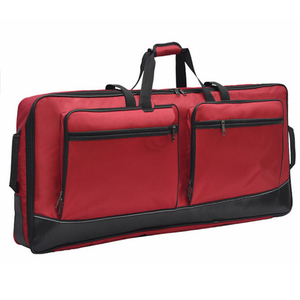 Various kinds of harmonium and cybals music instrument bags
