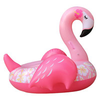 Hot selling inflatable flamingo pool float