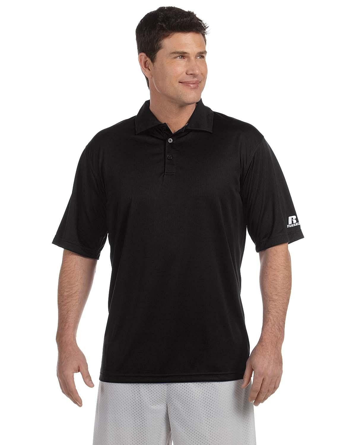 Russell Athletic Team Essential Polo, M, Black