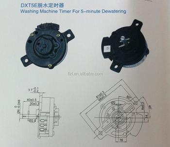 washing machine timer for 5minute dxt5 5minutes washing machine
