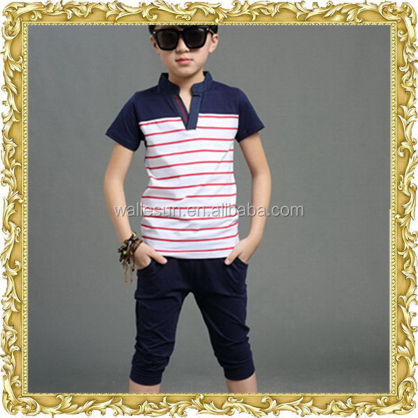 New products round neck customized kids clothing wholesale free shipping