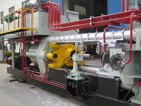 Aluminium extrusie machine